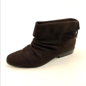 Womens Faded Glory Jeraldine Brown Slouch Bootie 9